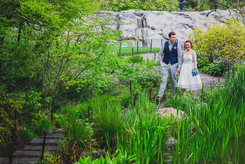 Ben  &  Anna - Central Park Elopement-35