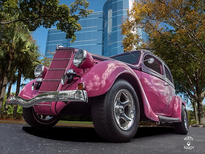 Bob Chambers 1935 Ford sedan