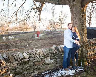 Brianna & Casey's surprise marriage proposal at Shaker Village 1.16.15. © 2015 Becky Flanery Love & Lenses Photography www.loveandlenses.photography