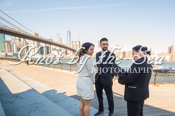 Brooklyn Bridge Park Elopement - Juan & Daiana-1