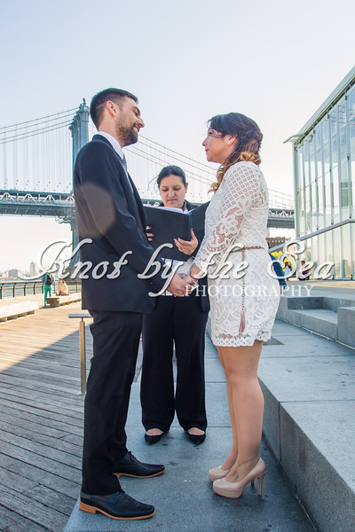 Brooklyn Bridge Park Elopement - Juan & Daiana-5