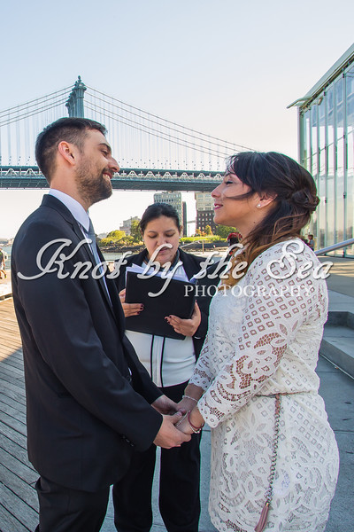 Brooklyn Bridge Park Elopement - Juan & Daiana-7