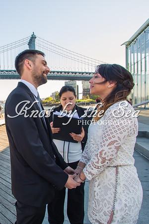 Brooklyn Bridge Park Elopement - Juan & Daiana-7