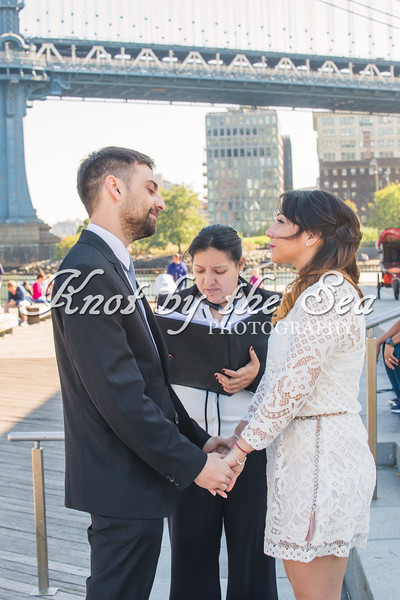 Brooklyn Bridge Park Elopement - Juan & Daiana-15