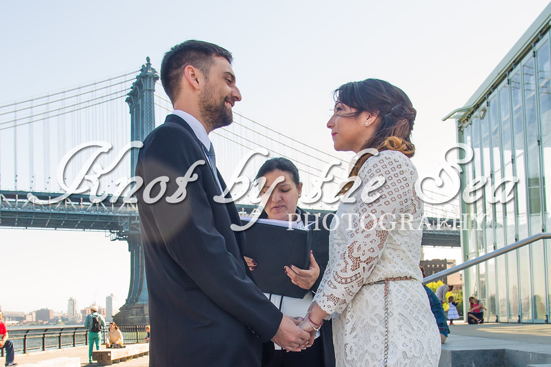 Brooklyn Bridge Park Elopement - Juan & Daiana-6