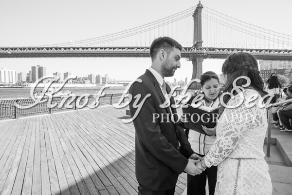 Brooklyn Bridge Park Elopement - Juan & Daiana-3