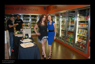 "Julie with ""Marian the Foodie""!  You can learn more about Marian by visiting her website at: www.marianthefoodie.com"