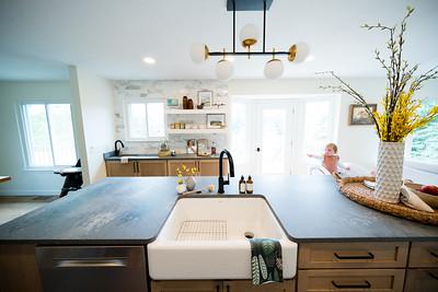 8464 Parkridge Kitchen and Fireplace-8