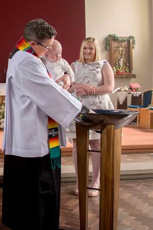Caitlin Hornsby christening