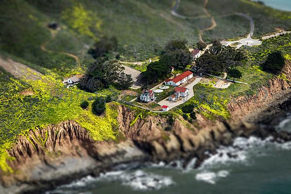 Point San Luis Lighthouse_Tilt/Shift effect