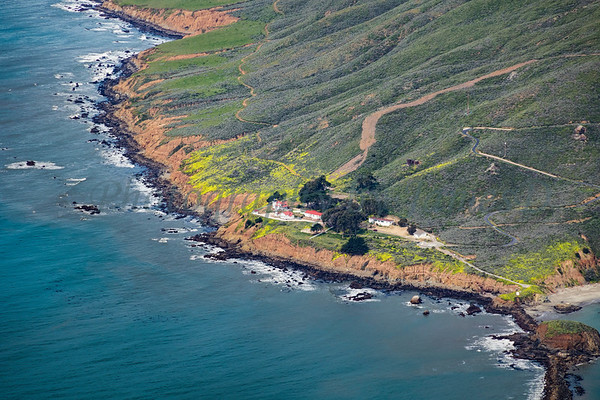 Point San Luis Lighthouse overview.