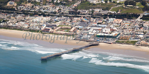 Pismo Beach Pier and Downtown