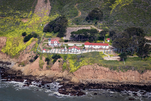 Point San Luis Lighthouse from the Sky.