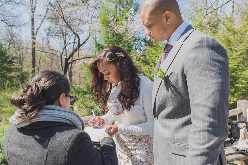 Candice & Connie - Central Park Wedding-47