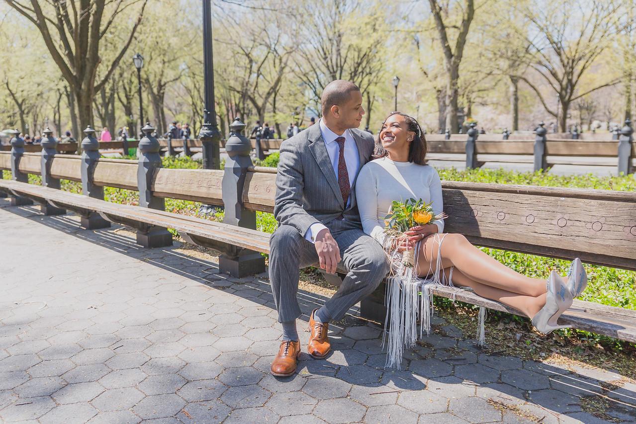 Candice & Connie - Central Park Wedding-164