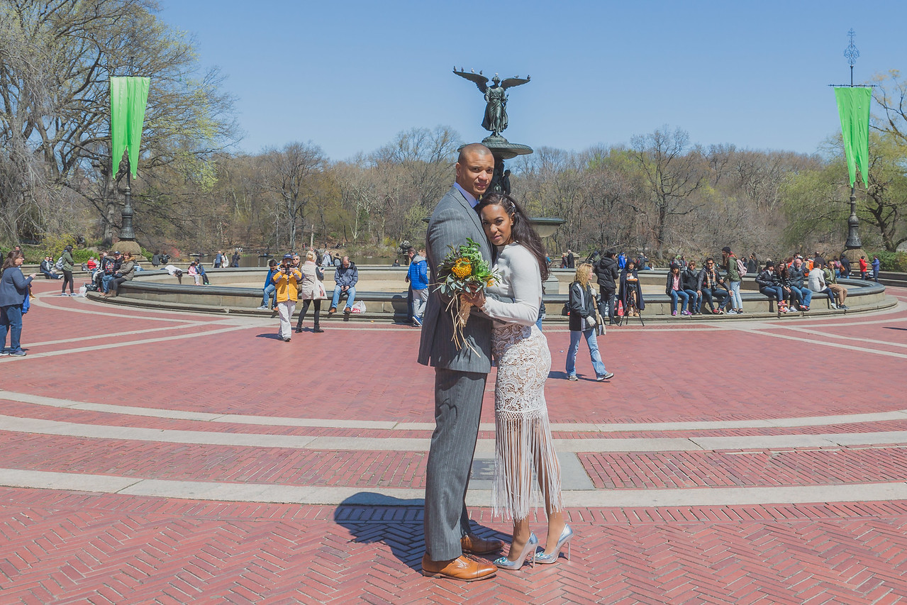 Candice & Connie - Central Park Wedding-136