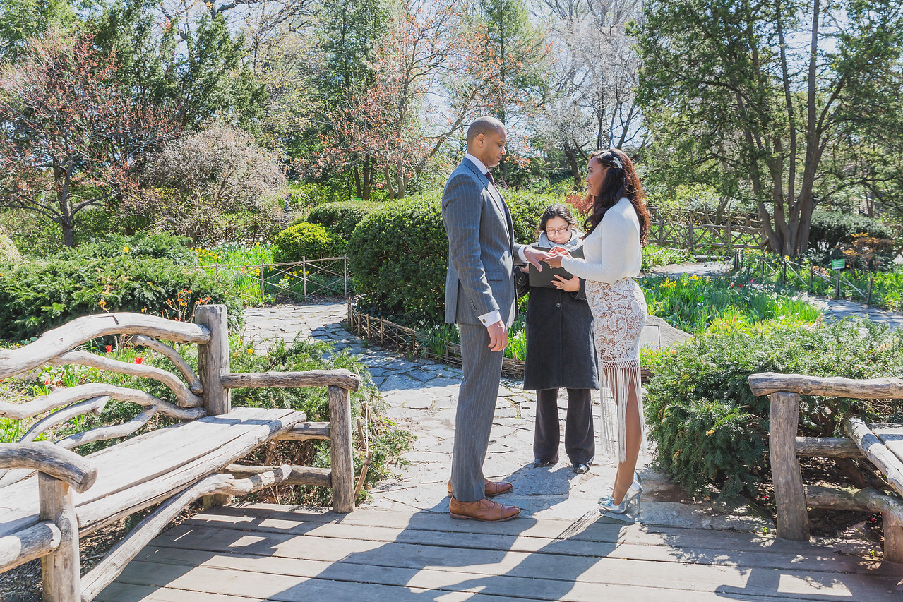 Candice & Connie - Central Park Wedding-18