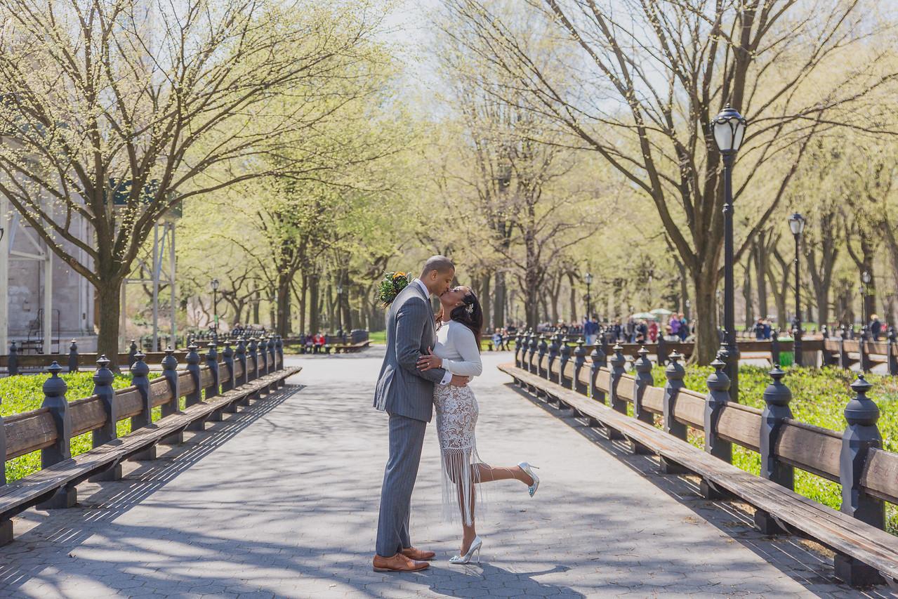 Candice & Connie - Central Park Wedding-156