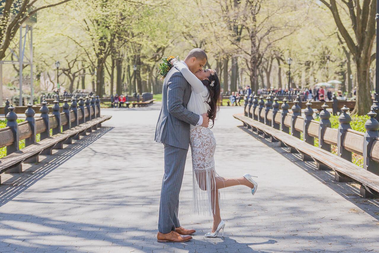 Candice & Connie - Central Park Wedding-158