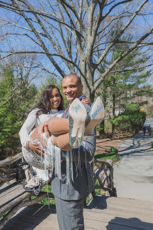 Candice & Connie - Central Park Wedding-49