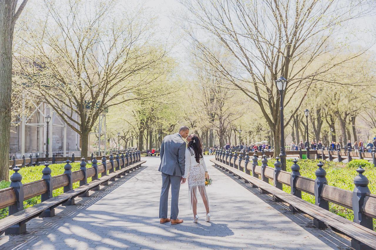 Candice & Connie - Central Park Wedding-154
