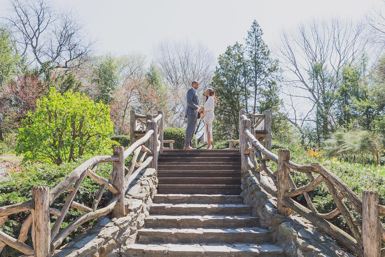 Candice & Connie - Central Park Wedding-60