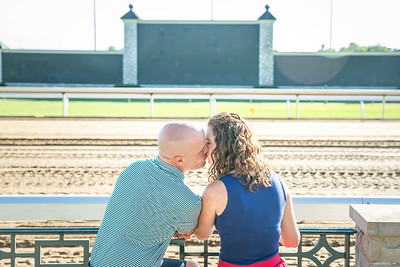 Carrie & Matt's engagement session at Keeneland & Gratz Park in Lexington, KY 7.31.15.  © 2015 Love & Lenses Photography/ Becky Flanery   www.loveandlenses.photography