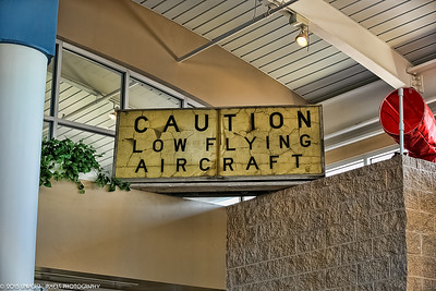 Airplanes Airport Sign