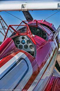 Airplanes Bi-plane Cockpit