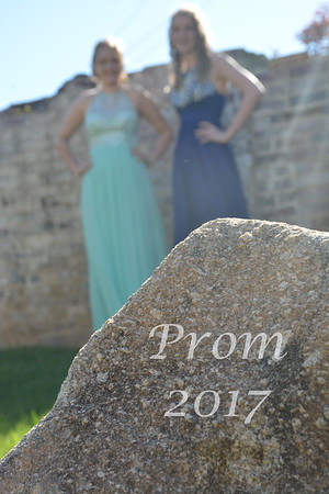Catlyn  and Isabelle Prom 2017