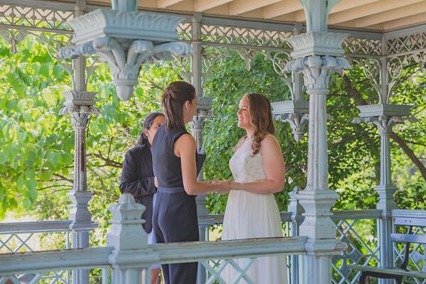 Central Park Elopement Wedding - Kelsey & Caitie