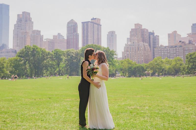 Central Park Elopement - Kelsey & Caitlin-199