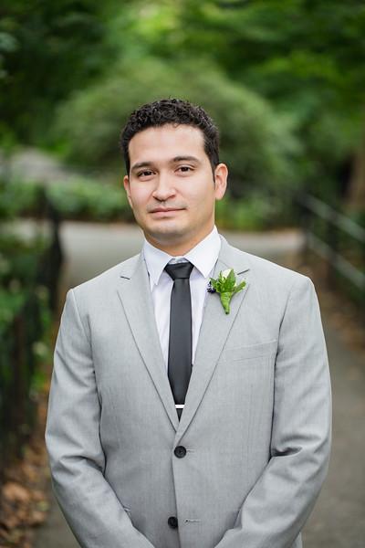 Central Park Wedding - Christopher & Mahsa