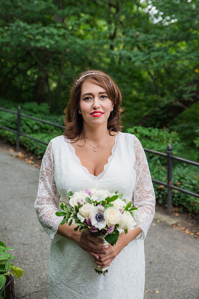 Central Park Wedding - Christopher & Mahsa
