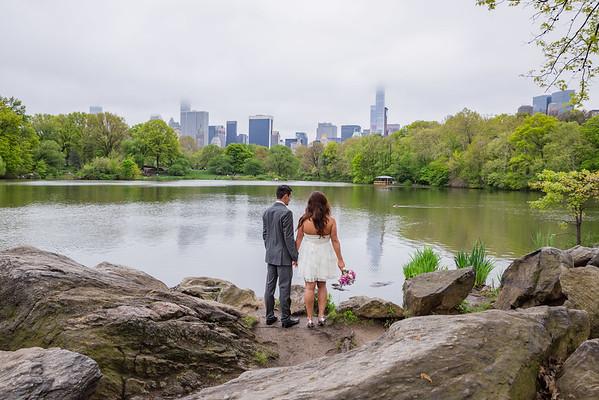 Shawntae & Brady - Central Park Elopement-122