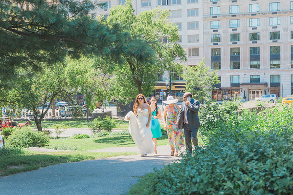 Central Park Wedding - Blanca & Enrique-1