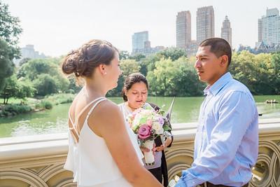Central Park Wedding - Casey & Javier-7