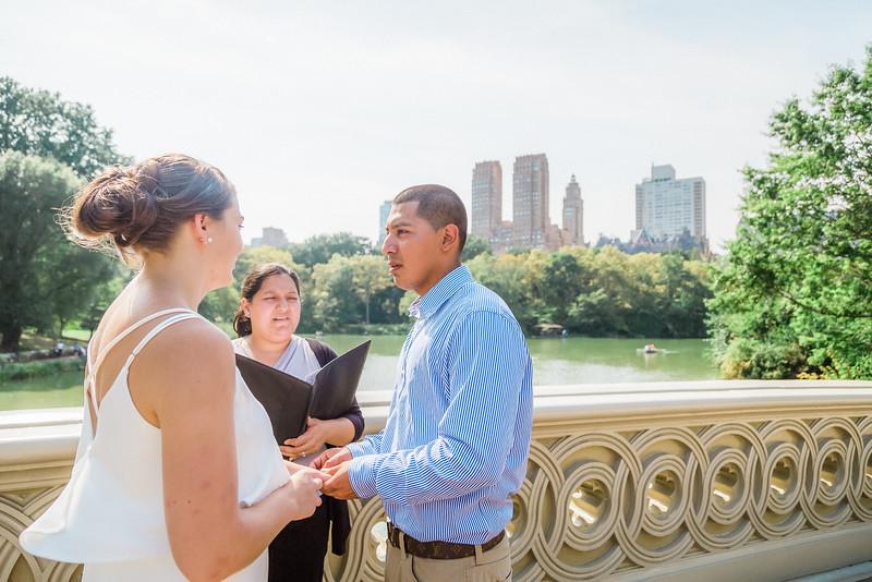 Central Park Wedding - Casey & Javier-8