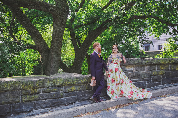 Central Park Wedding - Dan & Jen-207