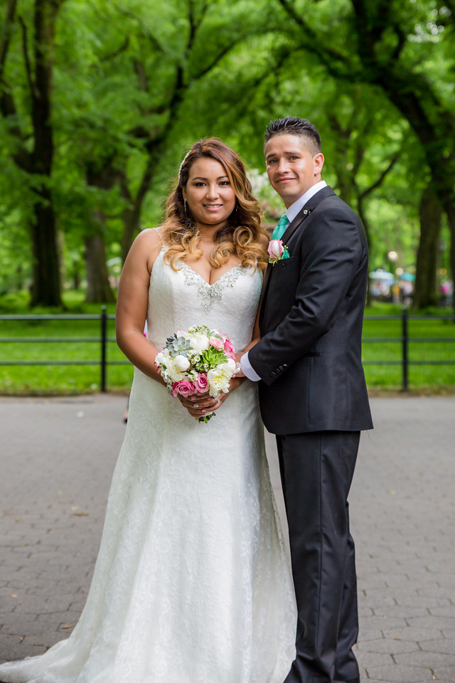 Central Park Wedding - Stefany & Diego-263