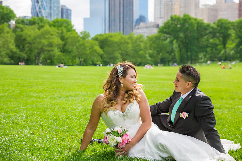 Central Park Wedding - Stefany & Diego-286