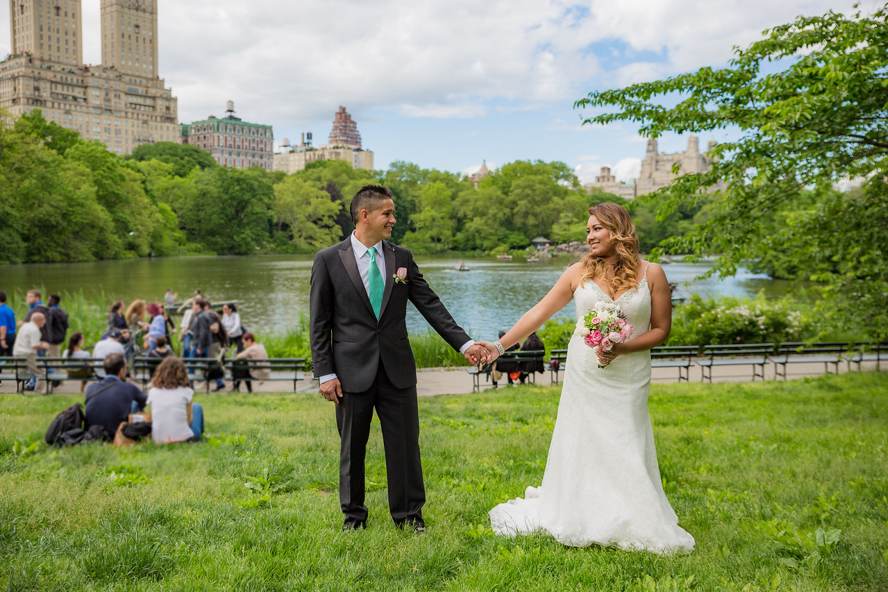 Central Park Wedding - Stefany & Diego-142