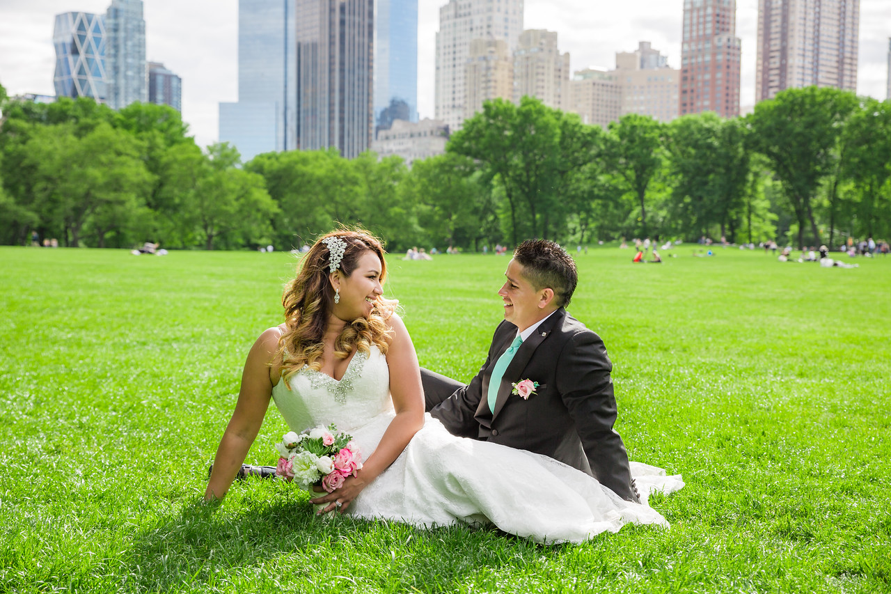 Central Park Wedding - Stefany & Diego-287
