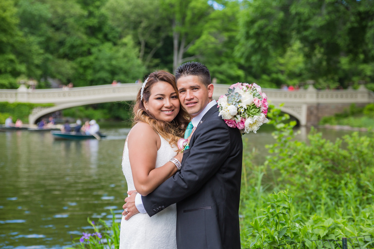 Central Park Wedding - Stefany & Diego-183