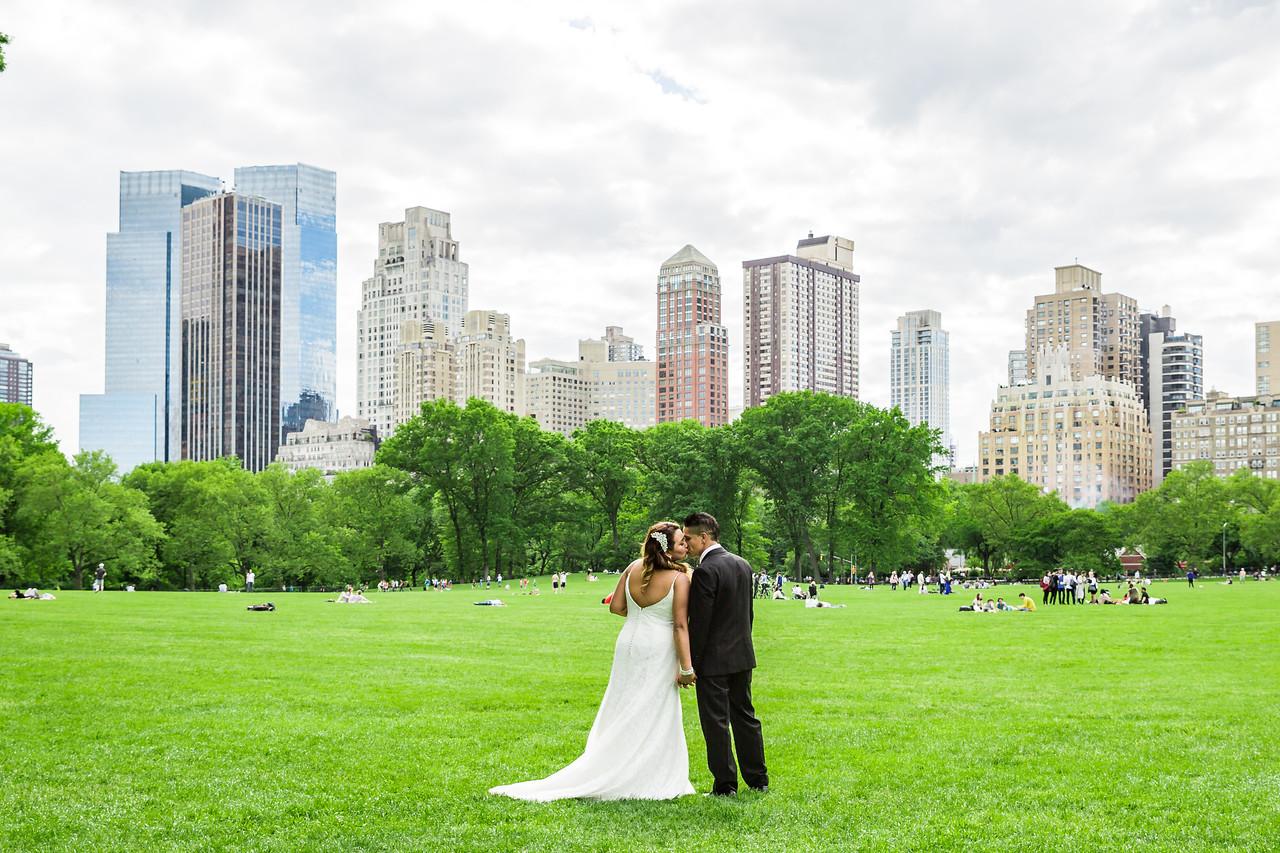 Central Park Wedding - Stefany & Diego-274