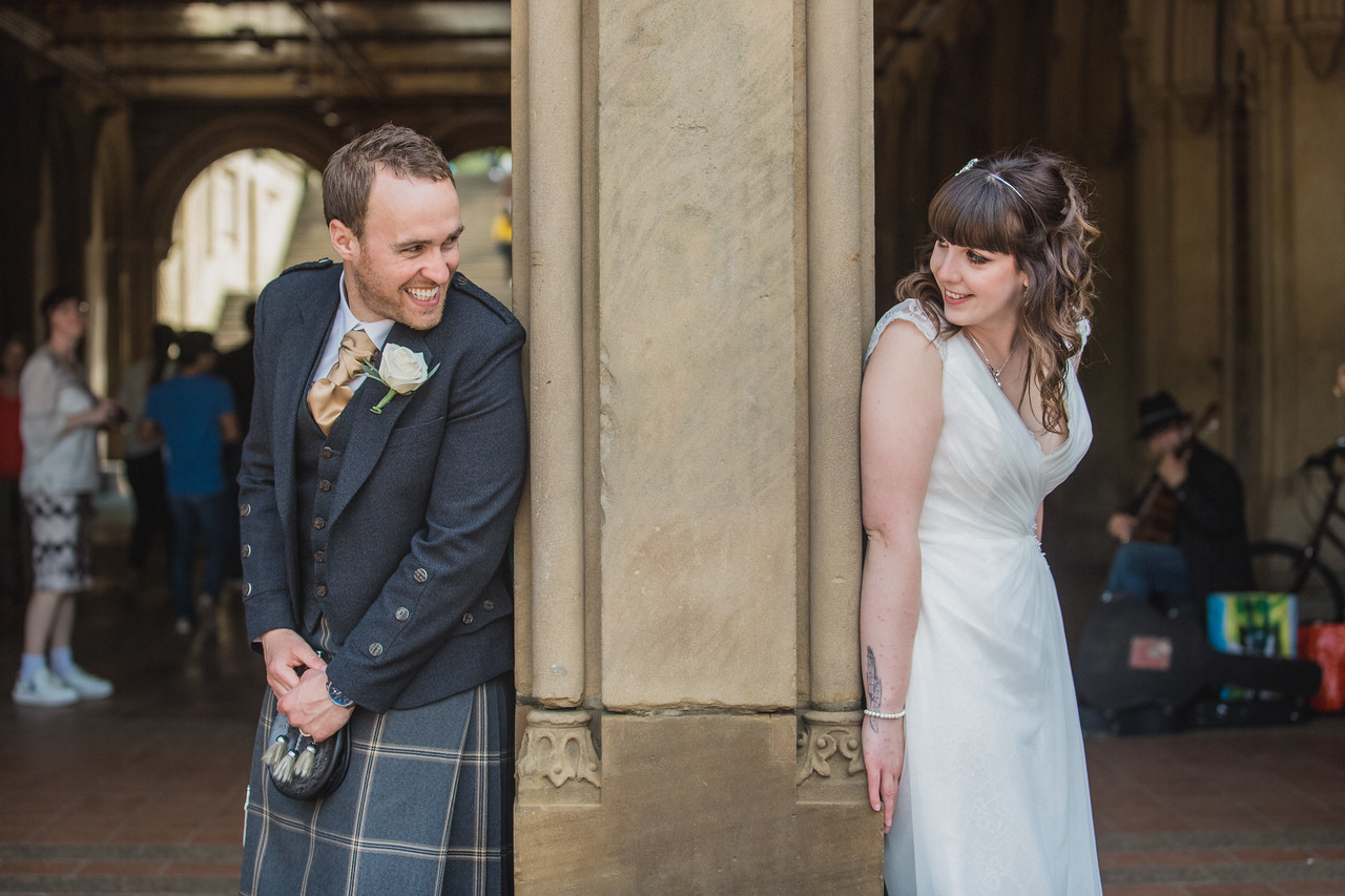 Central Park Wedding - Gary & Kirsty-171