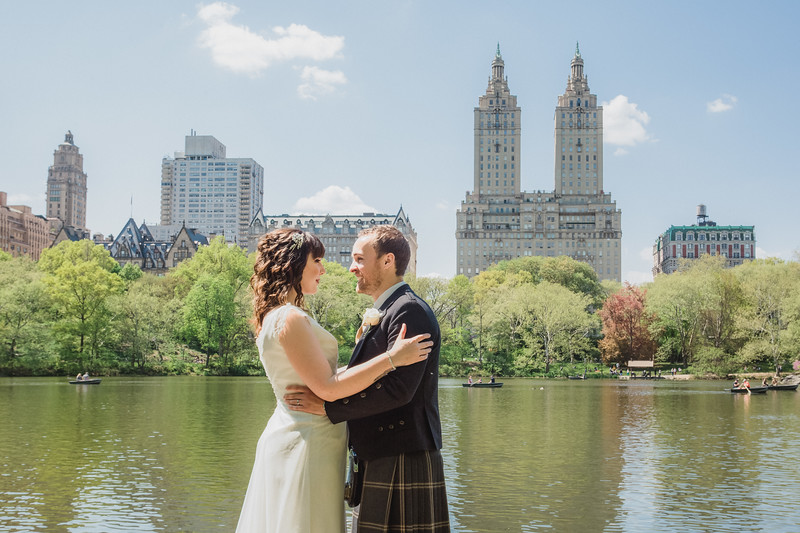 Central Park Wedding - Gary & Kirsty-57