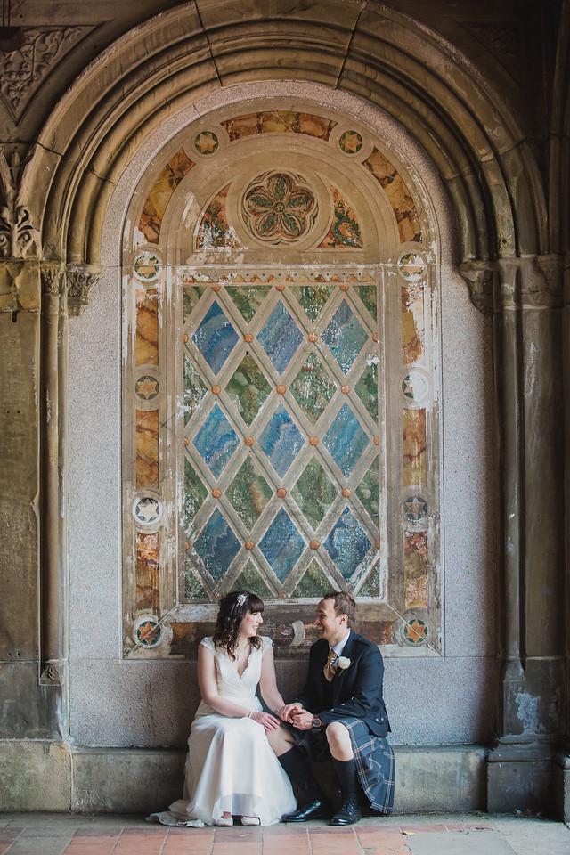 Central Park Wedding - Gary & Kirsty-180