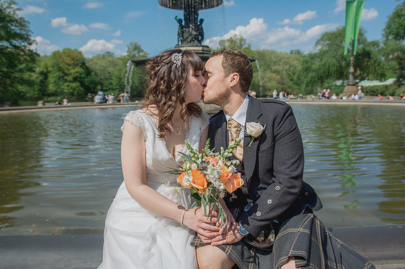Central Park Wedding - Gary & Kirsty-149