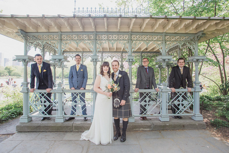 Central Park Wedding - Gary & Kirsty-138